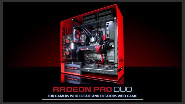 AMD präsentiert die Radeon Pro Duo