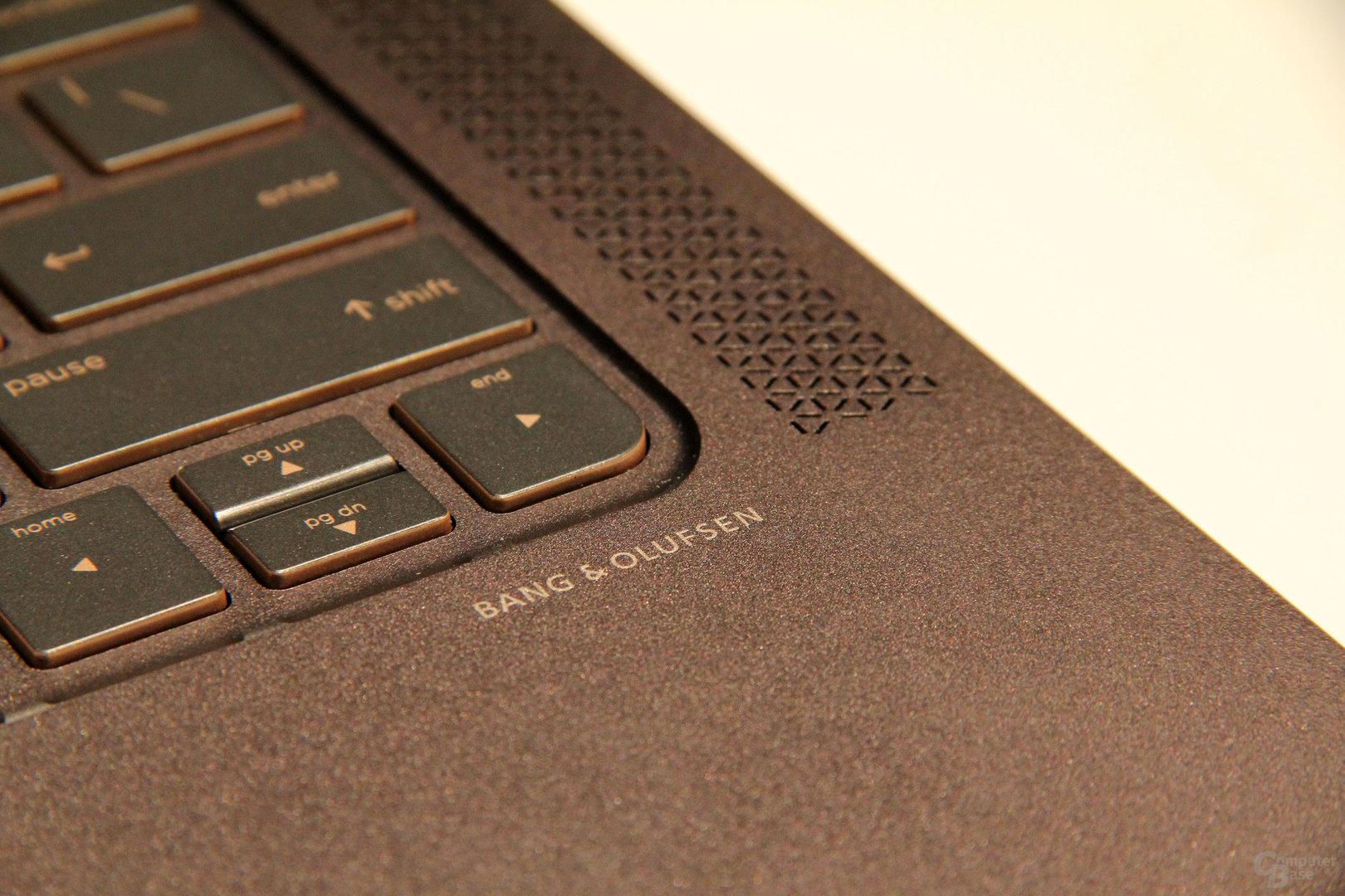 Beim Sound will HP nachbessern
