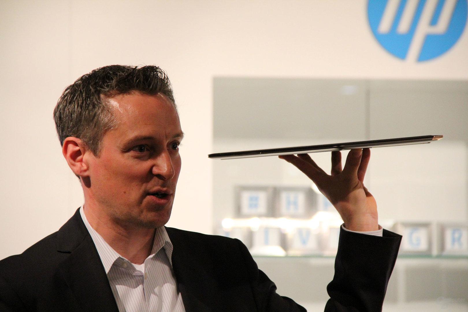 Michael Blessing, Chef für HP Produktmanager in Deutschland