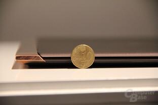 Nur 10,4 Millimeter Bauhöhe