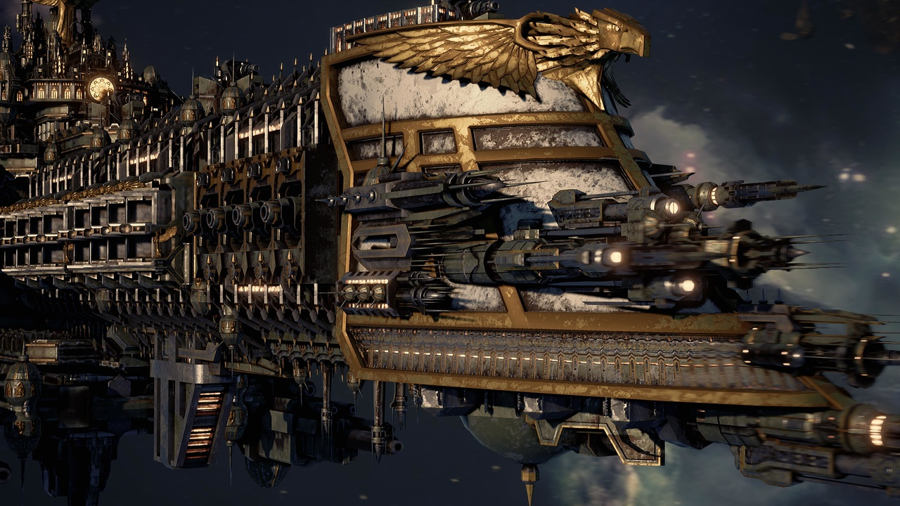 Battlefleet Gothic: Armada im Test: Detailverliebte Weltraum-Baustelle