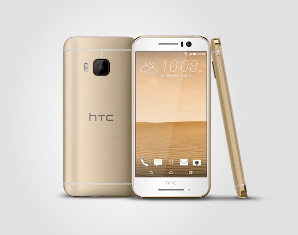 HTC One S9 (Gold on Gold)