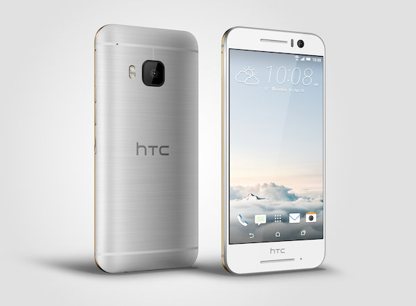 HTC One S9 (Gold on Silver)