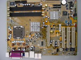 Asus P5AD2 mit Alderwood (925X) Chipsatz