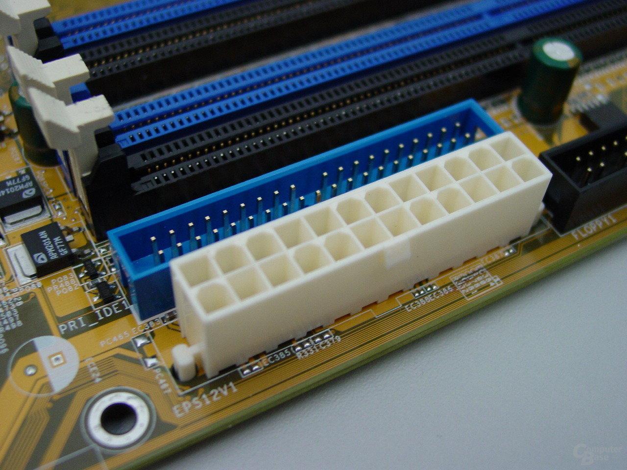 Neuer ATX-Stecker mit 24-Pins nach 2.2 Spezifikation