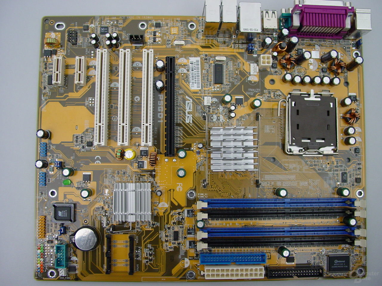 Asus P5GD1 mit Intel Grantsdale-P (915P) Chipsatz
