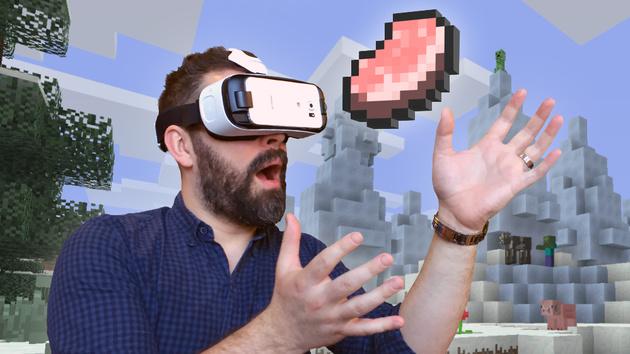 Minecraft: Gear VR Edition ab sofort im Oculus Store erhältlich