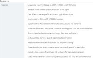 Crucial MX300 nutzt Dynamic Write Acceleration
