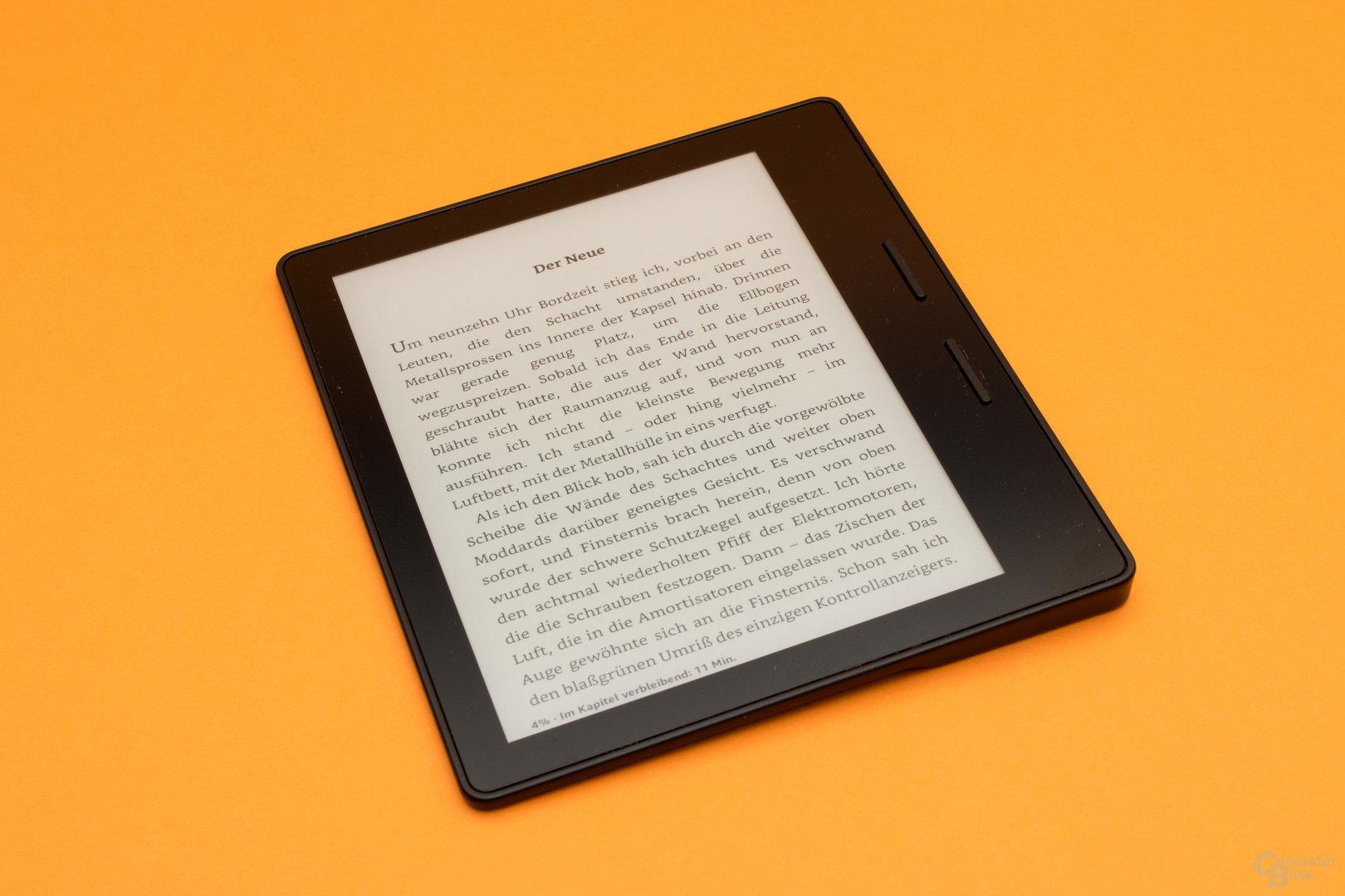 Kindle Oasis für Rechtshänder