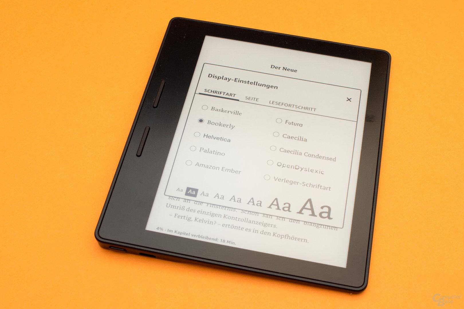 Neue Schriftart Amazon Ember