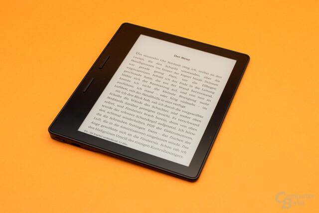 Kindle Oasis für Linkshänder