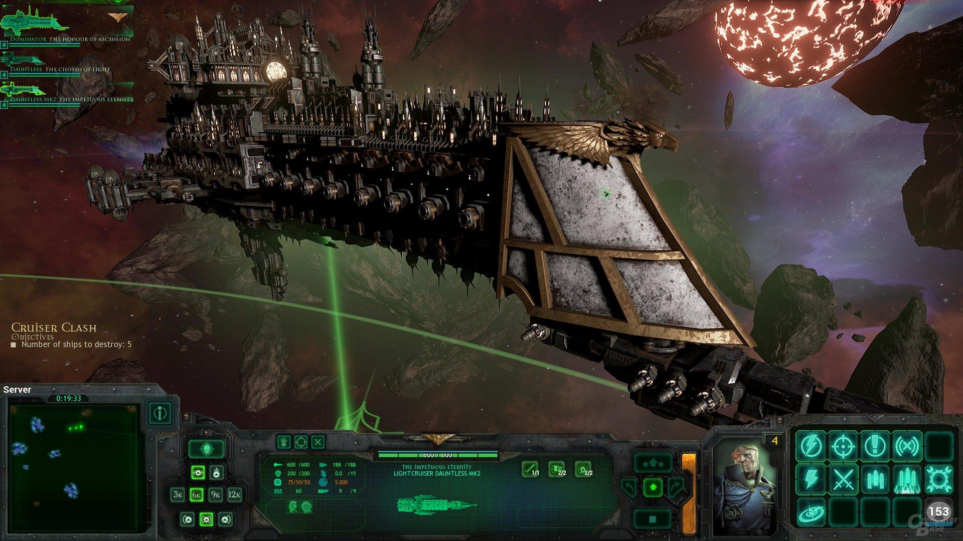 Die Schiffe sehen auch aus der Nähe prächtig aus