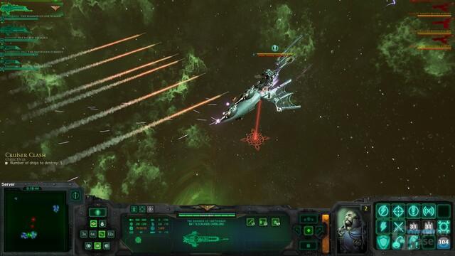 Eldar-Schiffe haben mit Torpedos leichtes Spiel