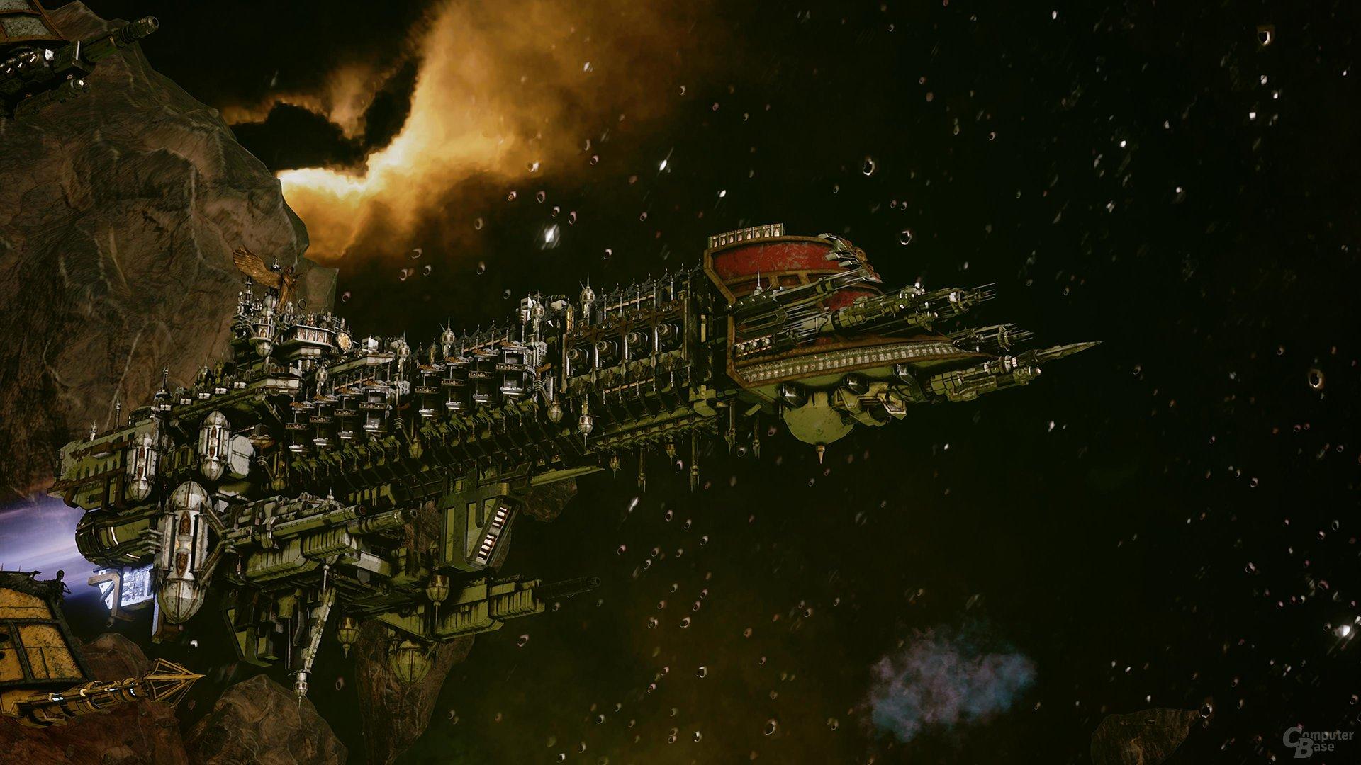 Maximal ein Schlachtschiff lässt sich ins Feld führen