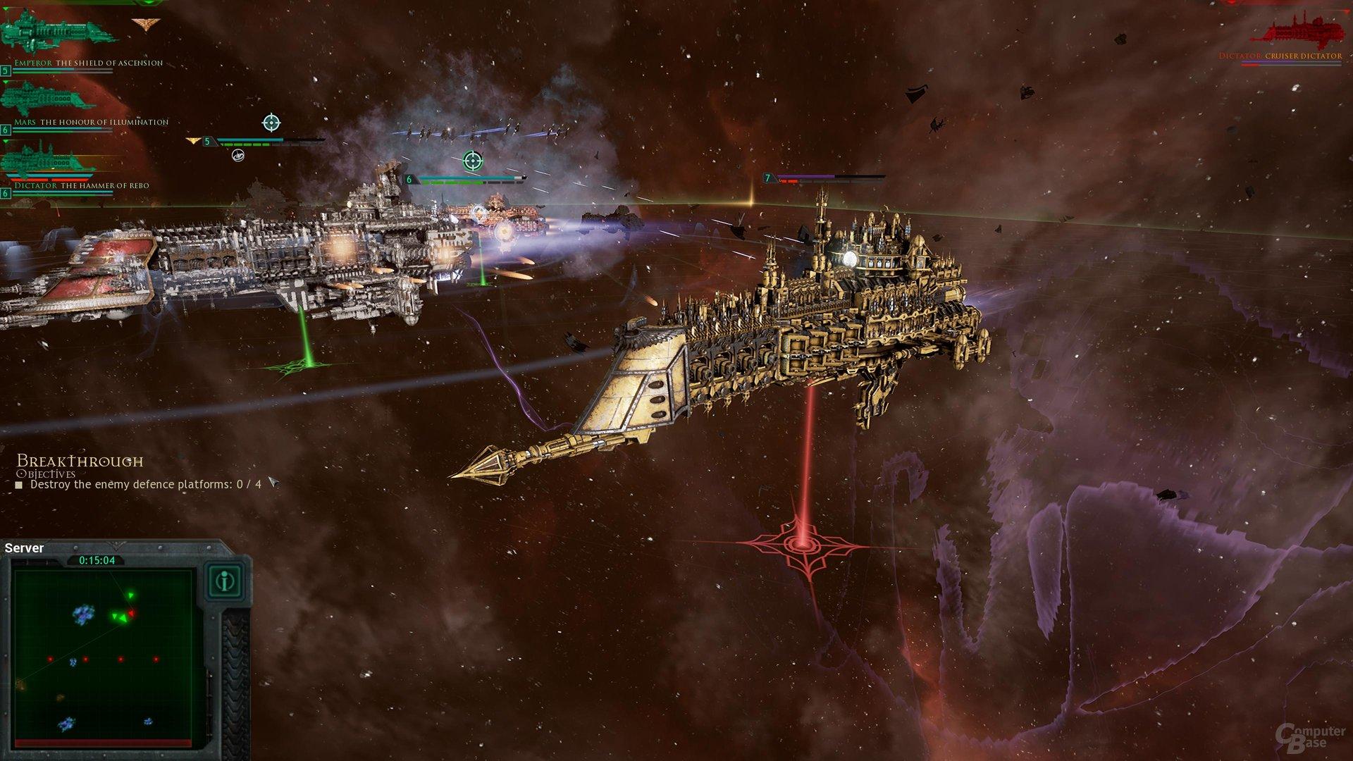 Makro-Batterien machen das Imperium im Nahkampf stark