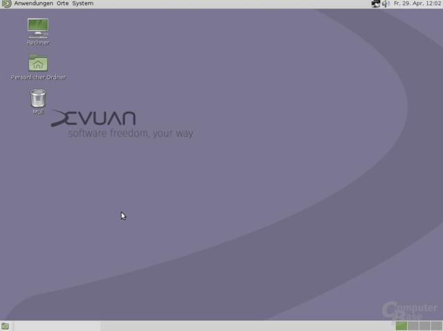 Devuan mit MATE Desktop