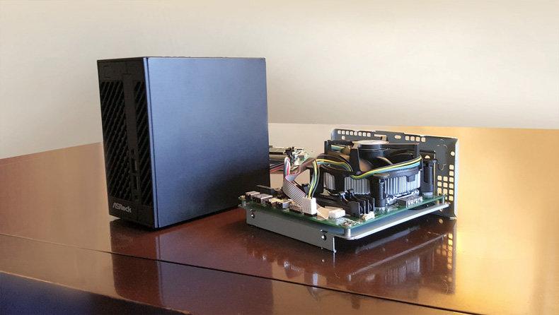 ASRock H110M-STX Mini-PC alias DeskMini