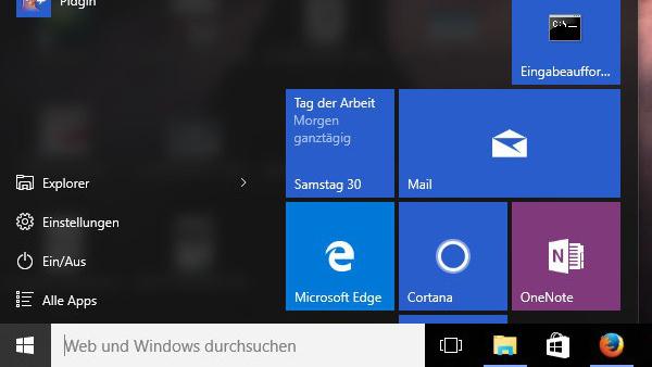 Windows 10: Cortana-Suchbox besteht auf Edge und Bing