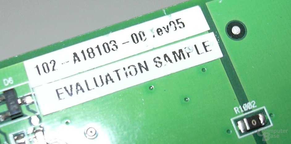 ATi RV380 Revisionsaufkleber II