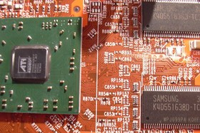 ATi RV380 Chip und RAM