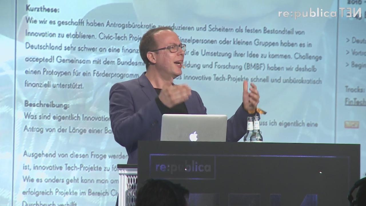 Re:publica 2016: Das offene Internet ist in Gefahr