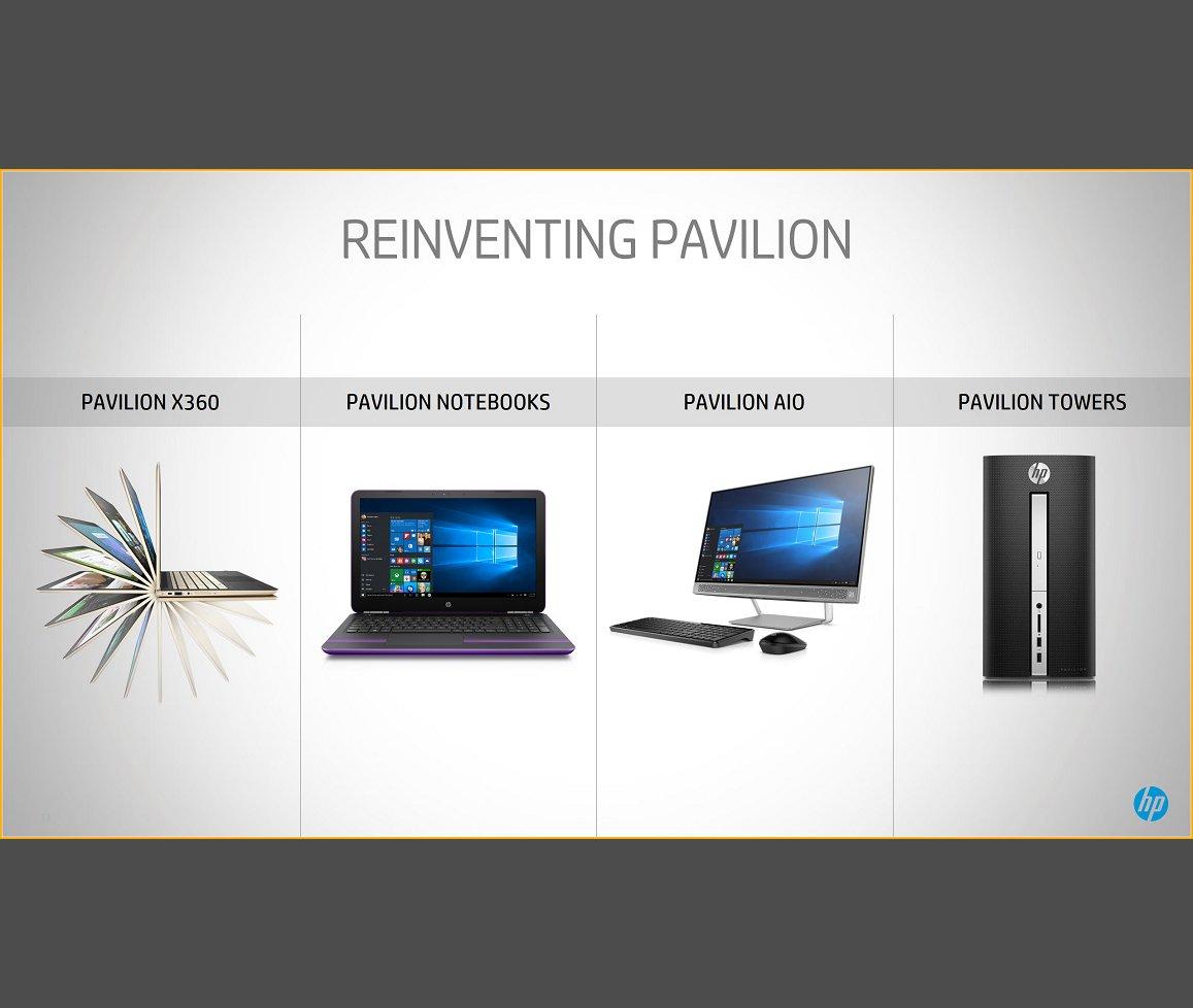 HP Pavilion x360 und Pavilion Notebooks bekommen Zuwachs