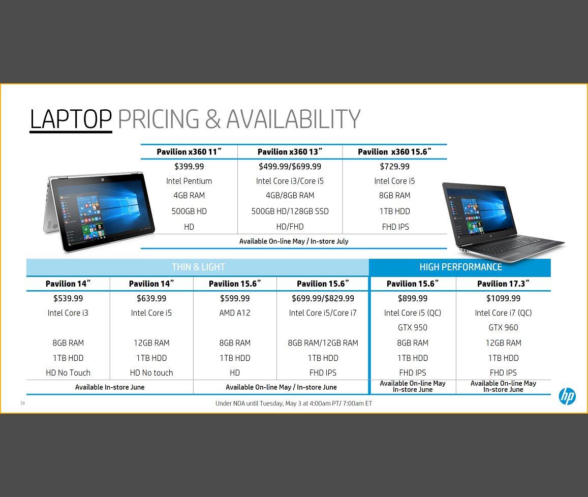 Die neuen Pavilion x360-Convertibles und Pavilion-Notebooks kommen im Juni