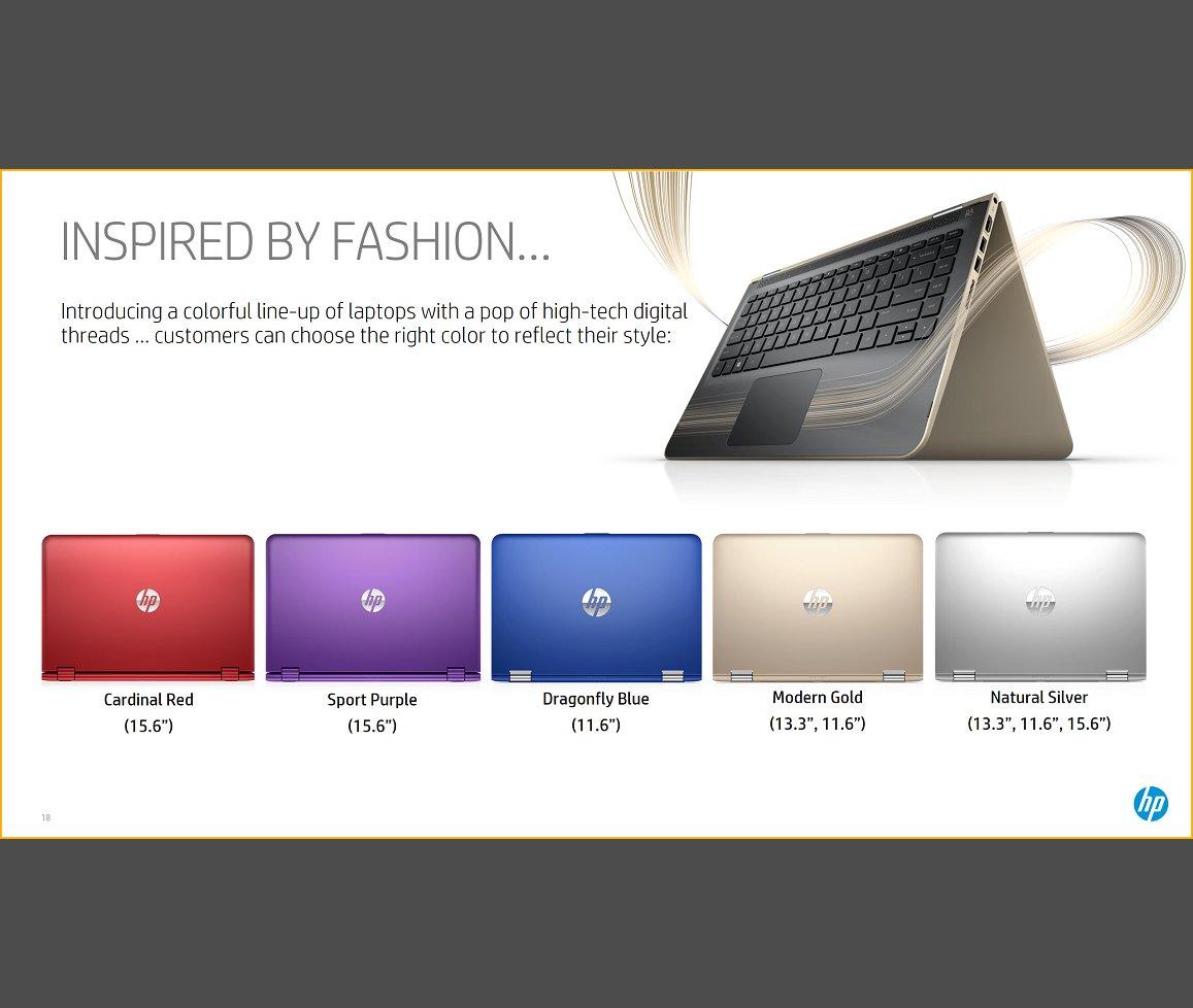 HP Pavilion x360 in neuen Farbvarianten