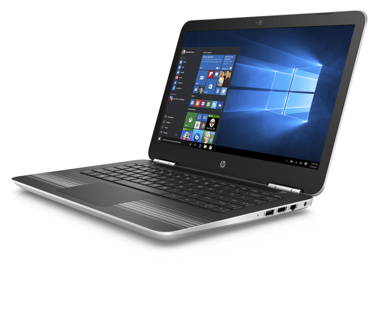HP Pavilion 14 in Natural Silver