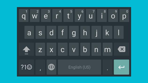 Google-Tastatur: Präzise Cursor-Positionierung und wieder Rahmen für Tasten