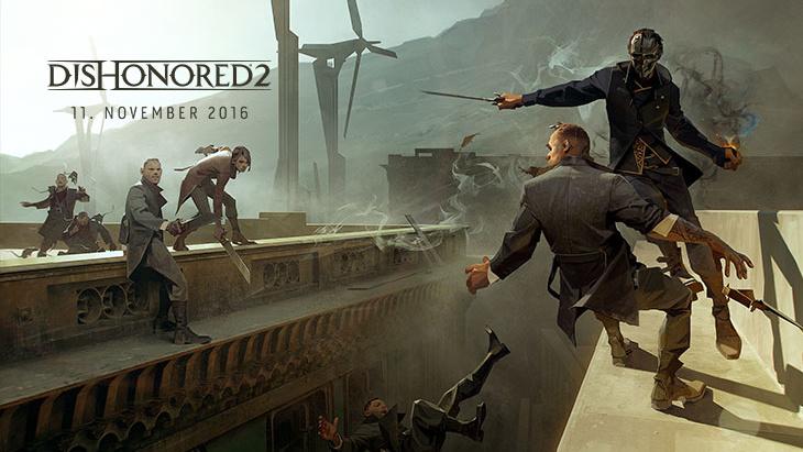 Verschiebung: Dishonored 2 schleicht sich in den November