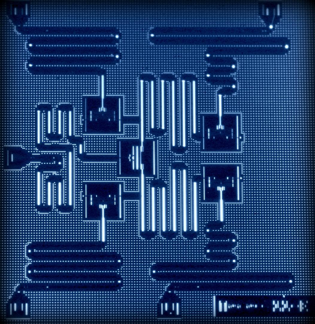 Quantenprozessor mit 5 Qubits