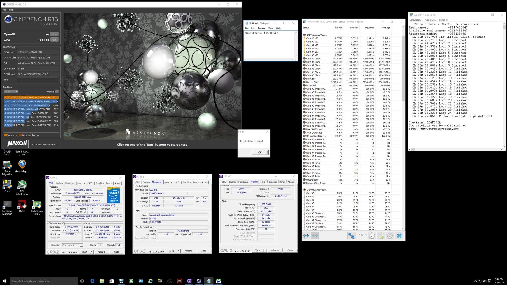 Intel Core i7-6850K: Erste Tests der neuen Sechs-Kern-CPU