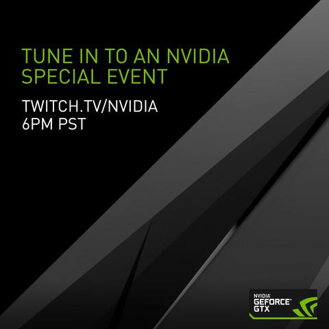Nvidia Special Event