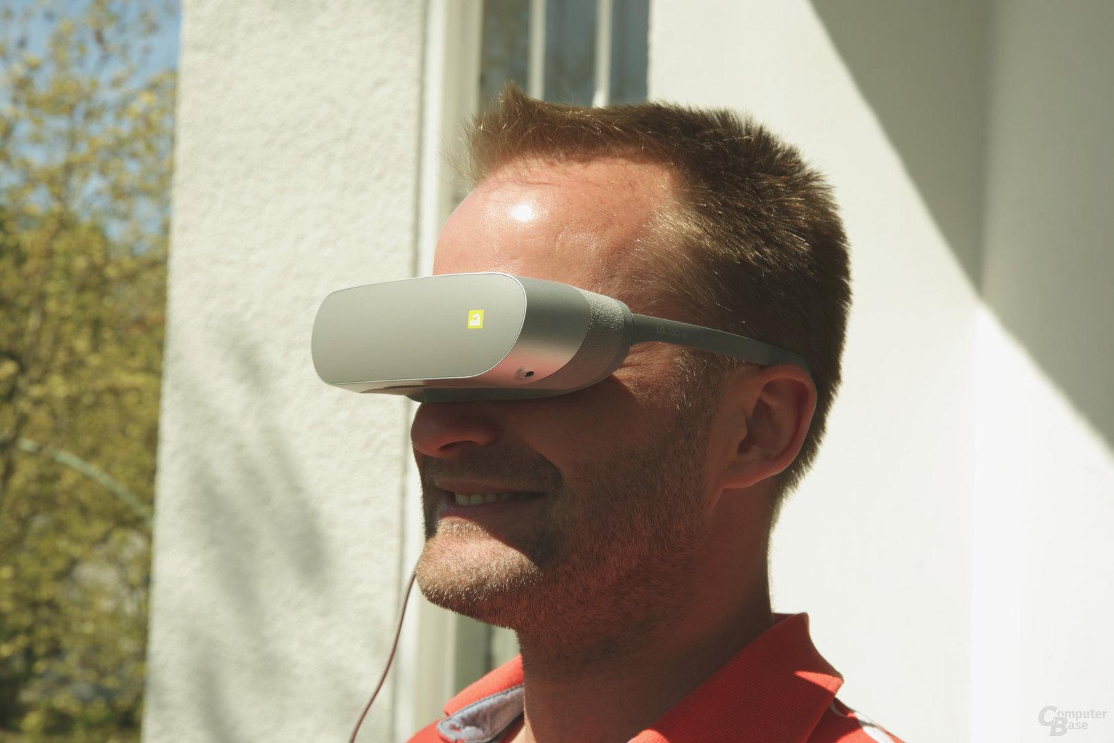 Spaß will mit der 360 VR nicht aufkommen