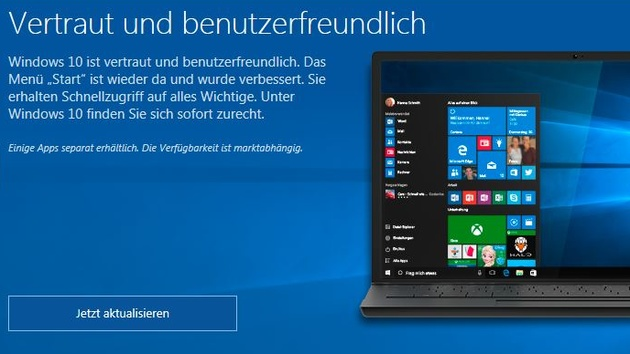 Get Windows 10: Upgrade-App verschwindet im August