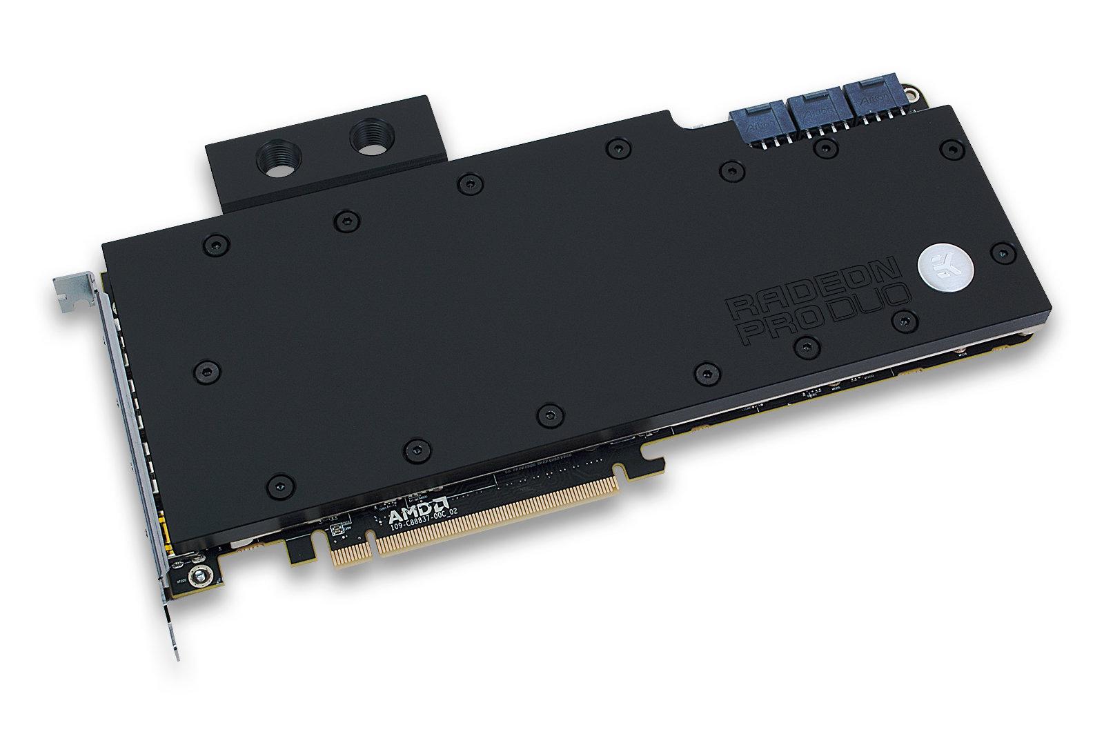 EK-FC Radeon Pro Duo – Acetal+Nickel