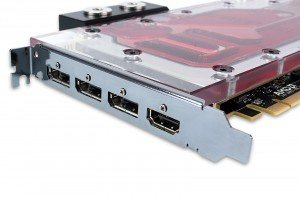 EK-FC Radeon Pro Duo – Nickel: Slotblende