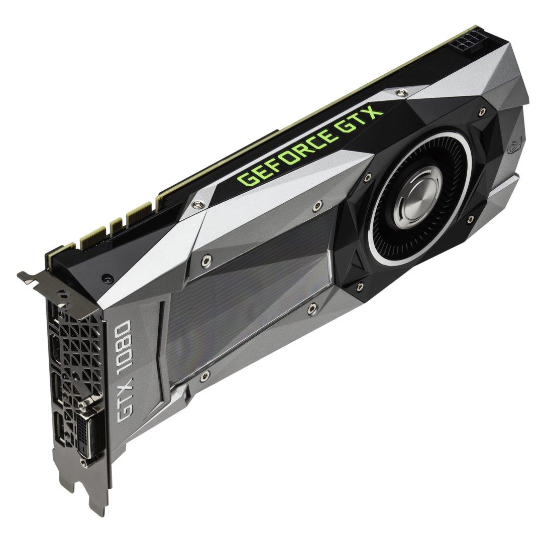Nvidia GeForce GTX 1080 in Bildern