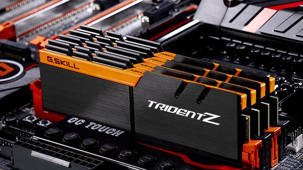 DDR4-RAM: G.Skill bringt mehr Farbe in Trident-Z-Serie