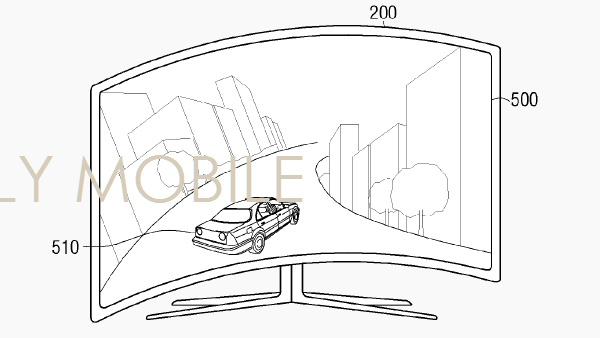 Samsung: Fernseher biegt sich mit Geschwindigkeit des Spiels