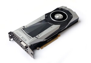 GeForce GTX 1080 im Referenzdesign
