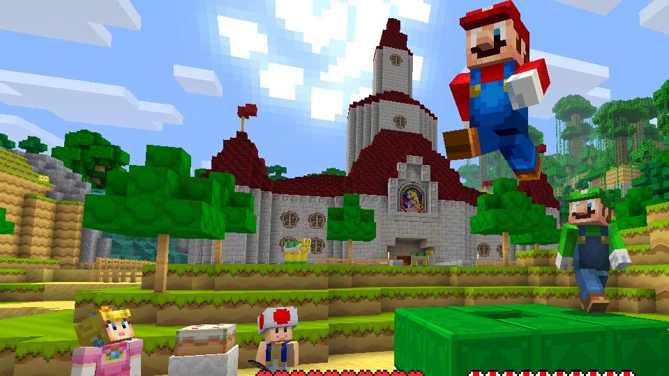 Minecraft: Wii U Edition: Super Mario Mash-Up Pack als kostenloser DLC
