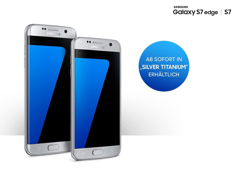 Samsung Galaxy S7 (edge) Silver Titanium