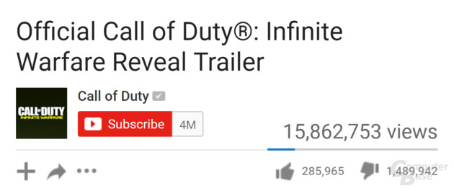 Trailer zu Infinite Warfare