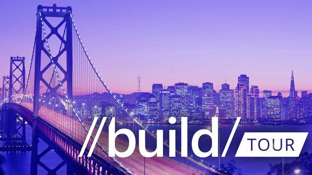 Registrierung offen: Microsoft Build Tour kommt nach Europa