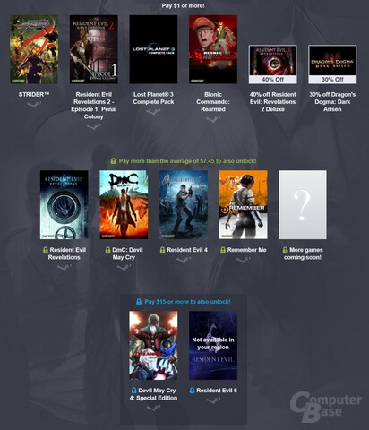 Mit vollem Namen: Das Humble Capcom Super Turbo HD Remix Bundle