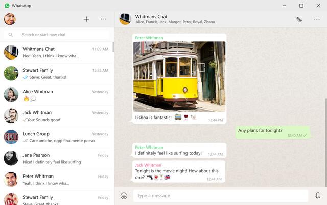 WhatsApp für den Desktop