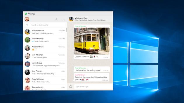 WhatsApp Desktop: Messenger für Windows und OS X veröffentlicht