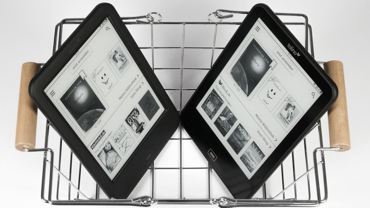 Tolino-E-Book-Reader: Firmware 1.8.0 bringt neue Schriften und Bibliothek